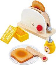 Тостер - Детска дървена играчка -