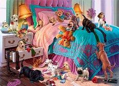 Палави кученца - пъзел
