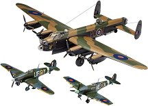 Бомбандировач - Британска легенда - Комплект от 3 броя бомбандировачи за сглобяване - макет