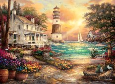 Вила край морето - Чък Пинсън (Chuck Pinson) - пъзел