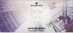 Essence Hello New York Eyeshadow Palette - Палитра с 9 цвята сенки за очи -