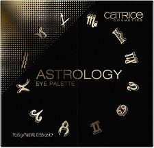 Catrice Astrology Eye Palette - Палитра с 12 цвята сенки за очи - сенки