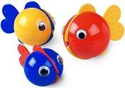 Рибки за балончета - Комплект играчки за баня -
