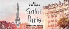 Essence Salut Paris Eyeshadow Palette - Палитра с 9 цвята сенки за очи -