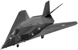 Щурмови изтребител - F-117 Nighthawk - Сглобяем авиомодел -