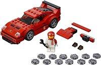 """Състезателен автомобил - Ferrari F40 Competizione - Детски конструктор от серията """"LEGO: Speed Champions"""" -"""