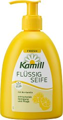 Kamill Fresh Flussig Seife - Течен сапун с аромат на лимон - боя