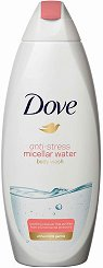 Dove Anti-Stress Micellar Water Body Wash - Подхранващ душ гел с мицеларна вода -