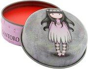"""Gorjuss Oops A Daisy Lip Balm - Балсам за устни с аромат на ягода от серията """"Gorjuss"""" - продукт"""