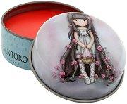 """Gorjuss Rosie Lip Balm - Балсам за устни с аромат на ягода от серията """"Gorjuss"""" - продукт"""