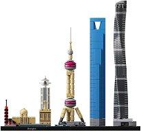"""Шанхай - Детски конструктор от серията """"LEGO Architecture"""" -"""