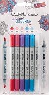 """Двувърхи маркери - Ciao Doodle Colouring Set - Комплект от 6 броя от серията """"Ciao"""""""