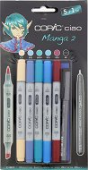 Двувърхи маркери - Ciao Manga Set 2