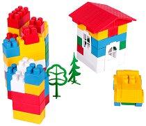 Детски конструктор - Комплект от 60, 114, 140, 173 или 200 части - кукла