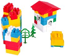 Детски конструктор - Комплект от 60, 114, 140, 173 или 200 части -