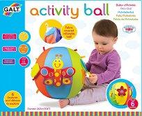 Мека бебешка топка - Activity Ball - раница