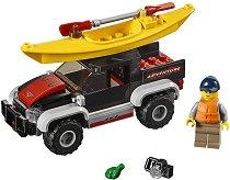 """Приключение с каяк - Детски конструктор от серията """"LEGO: City"""" -"""