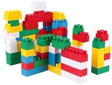 Детски конструктор - Комплект от 75 части - творчески комплект