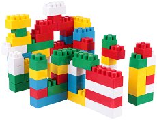 Детски конструктор - Комплект от 75 части - играчка