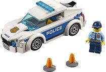 """Полицейски патрул - Детски конструктор от серията """"LEGO: City"""" - раница"""