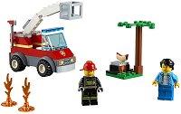 """Горящо барбекю - Детски конструктор от серията """"LEGO: City"""" -"""