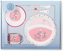 Детски комплект за хранене - Emmi Girl - За бебета над 6 месеца -