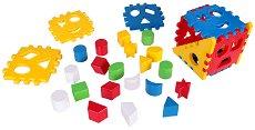 Сортер - Куб - Комплект 21 или 29 части - играчка