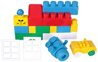 Детски конструктор - Mega Blocks - Комплект от 54 или 70 части - играчка