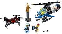 """Преследване с дрон - Детски конструктор от серията """"LEGO: City"""" -"""