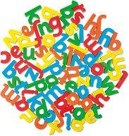 Магнитни малки букви - Английската азбука - Образователен комплект -