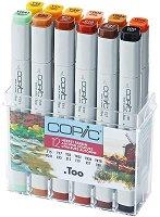 """Двувърхи маркери - Autumn Colours - Комплект от 12 цвята от серията """"Classic"""""""