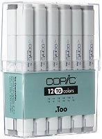"""Двувърхи маркери - Toner Gray - Комплект от 12 цвята от серията """"Classic"""""""