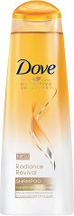 Dove Radiance Revival Shampoo - Шампоан за суха и крехка коса - спирала
