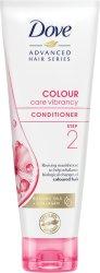 Dove Advanced Hair Series Colour Care Vibrancy Conditioner - Балсам за боядисана коса с колаген - балсам