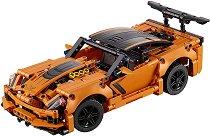 """Chevrolet Corvette ZR1 - 2 в 1 - Детски конструктор от серията """"LEGO Technic"""" - играчка"""