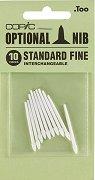 """Резервен писец за маркер - Standart Fine Nib - Комплект от 10 броя от серията """"Classic"""""""