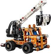 """Камион с кран - 2 в 1 - Детски конструктор от серията """"LEGO Technic"""" -"""