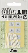 """Резервен писец за маркер - Calligraphy 3 mm - Комплект от 10 броя от серията """"Classic"""""""