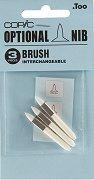 """Резервен писец за маркер - Brush - Комплект от 3 броя от серията """"Classic"""""""