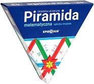 Математическа пирамида - Умножение - Образователен комплект - играчка