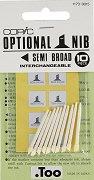 """Резервен писец за маркер - Semi Broad - Комплект от 10 броя от серията """"Classic"""""""