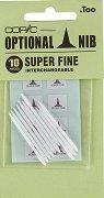 """Резервен писец за маркер - Super Fine - Комплект от 10 броя от серията """"Classic"""""""
