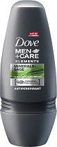 """Dove Men+Care Elements Minerals + Sage Antiperspirant Roll-On - Ролон против изпотяване за мъже от серията """"Men+Care Elements"""" -"""
