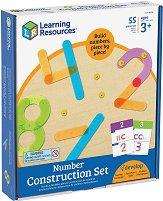 Конструиране на цифри от 0 до 9 - Образователен комплект -