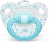 Залъгалка от силикон с ортодонтична форма - Happy Days - За бебета от 0 до 6 месеца - продукт