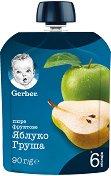 Nestle Gerber - Пауч ябълка и круша - пюре