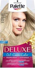 Palette Deluxe Permanent Lightener - Изсветлител за коса с ефект против жълти оттенъци - крем
