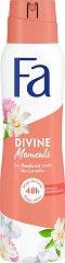 Fa Divine Moments Deodorant - Дезодорант с аромат на дива камелия - шампоан