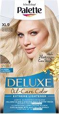 Palette Deluxe Oil-Care Color Extreme Lightener - Изрусител за коса с ефект против жълти оттенъци - фон дьо тен