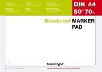 Скицник - Marker Pad - Плътност на хартията 70 g/m : 2 :